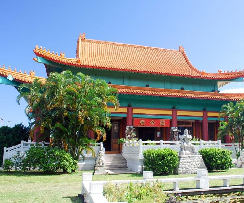 decoration-temple-chinois-feng-shui-feu-eau-bois-terre-metal